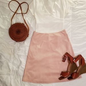 Soft to the touch Pink skirt